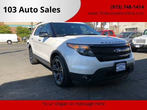 2014 Ford Explorer for sale at 103 Auto Sales in Bloomfield NJ