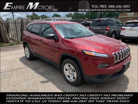 2014 Jeep Cherokee for sale at Empire Motors LTD in Cleveland OH