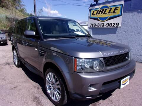 2010 Land Rover Range Rover Sport for sale at Circle Auto Center in Colorado Springs CO