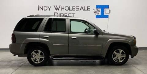 2008 Chevrolet TrailBlazer for sale at Indy Wholesale Direct in Carmel IN