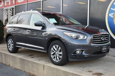 2013 Infiniti JX35 for sale at Alfa Romeo & Fiat of Strongsville in Strongsville OH
