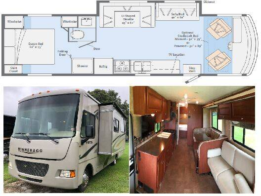 2014 Winnebago Vista 31KE for sale at S & M WHEELESTATE SALES INC - Class A in Princeton NC