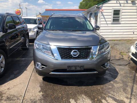 2015 Nissan Pathfinder for sale at SuperBuy Auto Sales Inc in Avenel NJ