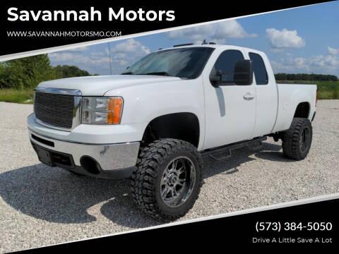 2013 GMC Sierra 1500 for sale at Savannah Motors in Elsberry MO