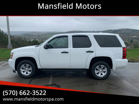 2010 Chevrolet Tahoe for sale at Mansfield Motors in Mansfield PA