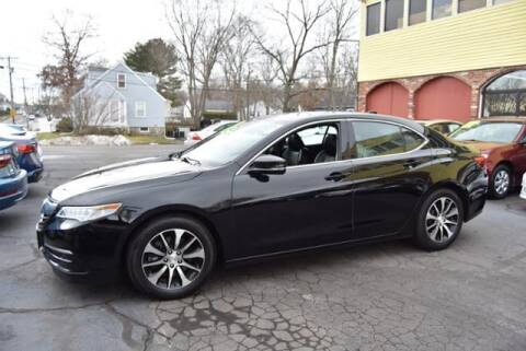 2015 Acura TLX for sale at Absolute Auto Sales, Inc in Brockton MA