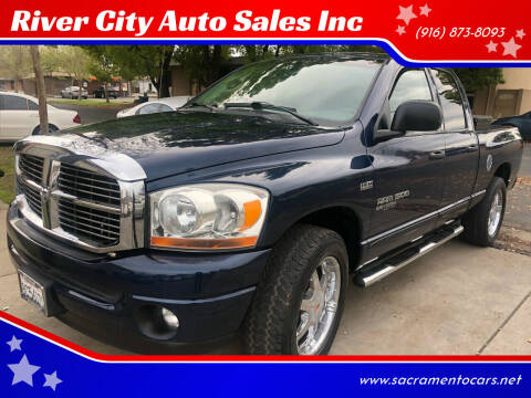 2006 Dodge Ram Pickup 1500 for sale at River City Auto Sales Inc in West Sacramento CA