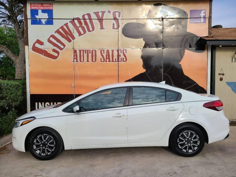 2018 Kia Forte for sale at Cowboy's Auto Sales in San Antonio TX