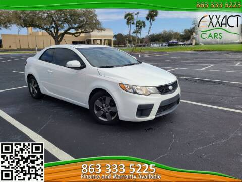 2010 Kia Forte Koup for sale at Exxact Cars in Lakeland FL