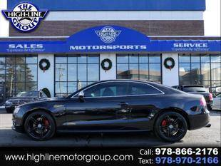 2011 Audi S5 for sale at Highline Group Motorsports in Lowell MA