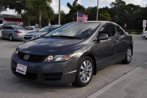 2010 Honda Civic for sale at STEPANEK'S AUTO SALES & SERVICE INC. in Vero Beach FL