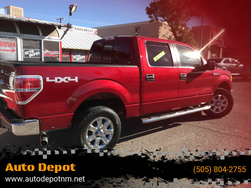 2013 Ford F-150 for sale at Auto Depot in Albuquerque NM