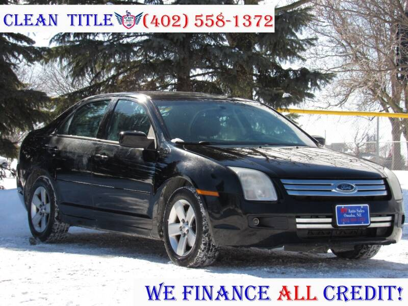 2007 Ford Fusion for sale at NY AUTO SALES in Omaha NE