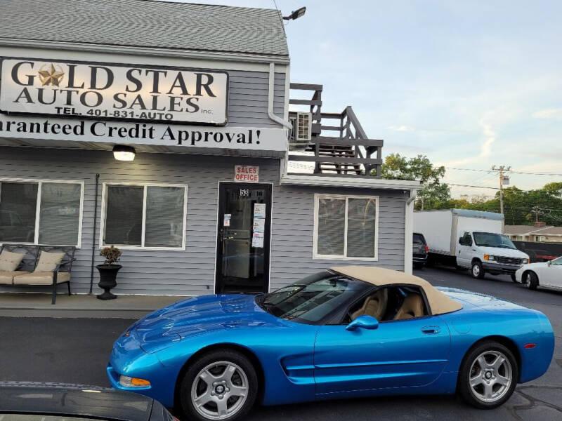 1998 Chevrolet Corvette for sale at Gold Star Auto Sales in Johnston RI