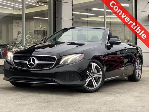 2018 Mercedes-Benz E-Class for sale at Carmel Motors in Indianapolis IN