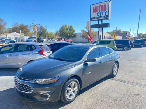 2017 Chevrolet Malibu for sale at Motor City Sales in Wichita KS