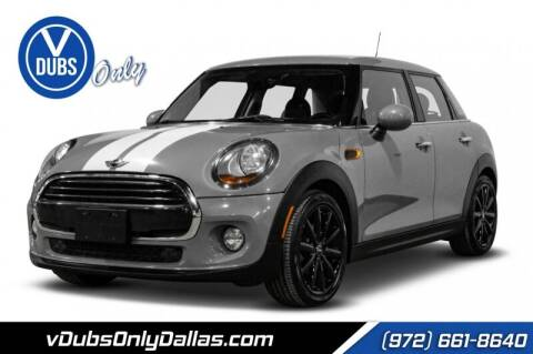 2016 MINI Hardtop 4 Door for sale at VDUBS ONLY in Dallas TX