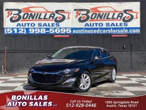 2019 Chevrolet Malibu for sale at Bonillas Auto Sales in Austin TX
