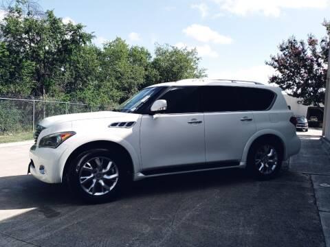 2012 Infiniti QX56 for sale at 57 Auto Sales in San Antonio TX