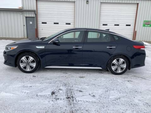 2017 Kia Optima Hybrid for sale at Valley Auto Locators in Gering NE