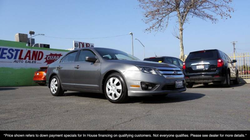 2011 Ford Fusion for sale at Westland Auto Sales on 7th in Fresno CA