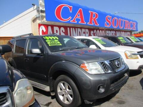 2009 Nissan Pathfinder for sale at CAR SOURCE OKC in Oklahoma City OK