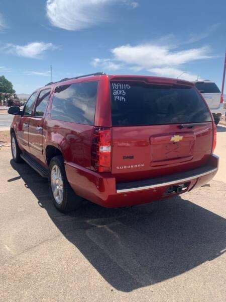 2013 Chevrolet Suburban for sale at Poor Boyz Auto Sales in Kingman AZ