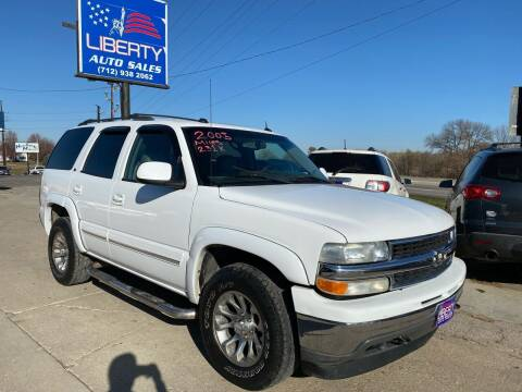 2005 Chevrolet Tahoe for sale at Liberty Auto Sales in Merrill IA
