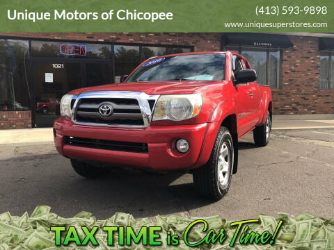 2010 Toyota Tacoma for sale at Unique Motors of Chicopee in Chicopee MA
