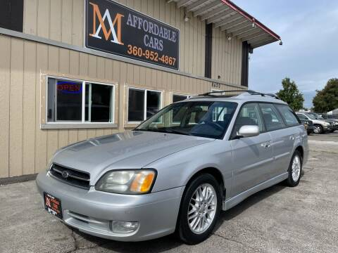 2002 Subaru Legacy for sale at M & A Affordable Cars in Vancouver WA