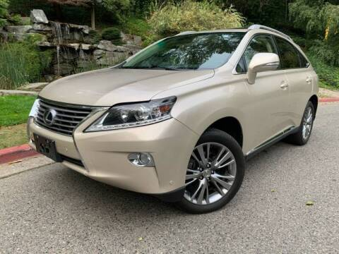 2013 Lexus RX 450h for sale at Mudarri Motorsports - Championship Motors in Redmond WA