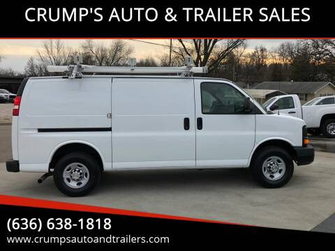 2013 Chevrolet Express Cargo for sale at CRUMP'S AUTO & TRAILER SALES in Crystal City MO