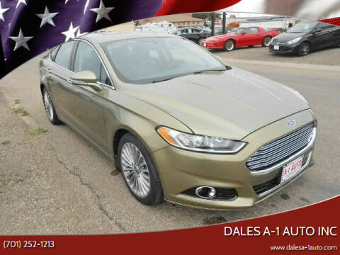 2013 Ford Fusion for sale at Dales A-1 Auto Inc in Jamestown ND