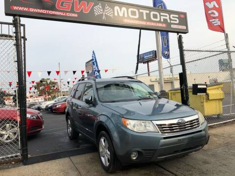 2009 Subaru Forester for sale at GW MOTORS in Newark NJ