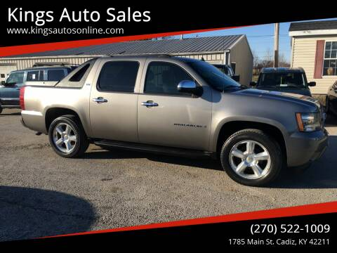 2008 Chevrolet Avalanche for sale at Kings Auto Sales in Cadiz KY