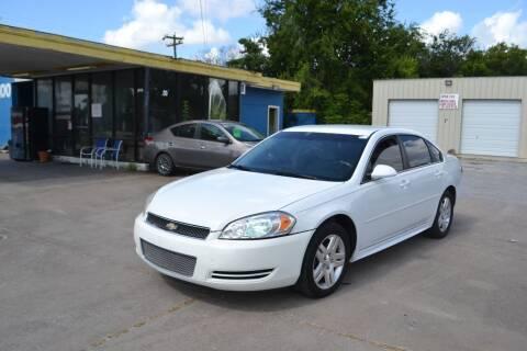2012 Chevrolet Impala for sale at Preferable Auto LLC in Houston TX