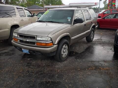 2003 Chevrolet Blazer for sale at Arak Auto Group in Bourbonnais IL
