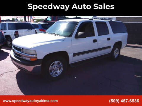 2003 Chevrolet Suburban for sale at Speedway Auto Sales in Yakima WA