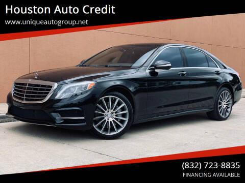 2015 Mercedes-Benz S-Class for sale at Houston Auto Credit in Houston TX