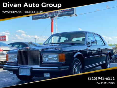 1985 Rolls-Royce Silver Spur for sale at Divan Auto Group in Feasterville Trevose PA