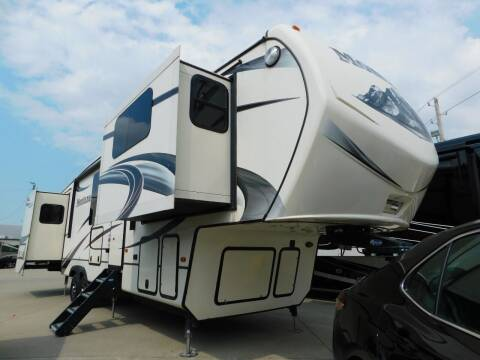 2015 Keystone Montana 3850FL for sale at Motorsports Unlimited in McAlester OK