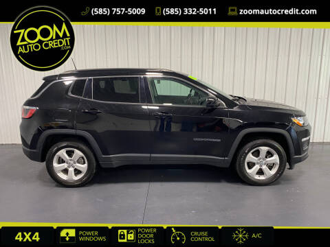 2018 Jeep Compass for sale at ZoomAutoCredit.com in Elba NY