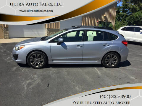 2012 Subaru Impreza for sale at Ultra Auto Sales, LLC in Cumberland RI