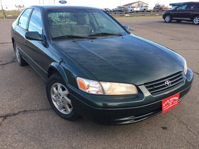 1999 Toyota Camry for sale at G & B  Motors in Havre MT