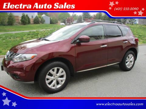 2012 Nissan Murano for sale at Electra Auto Sales in Johnston RI