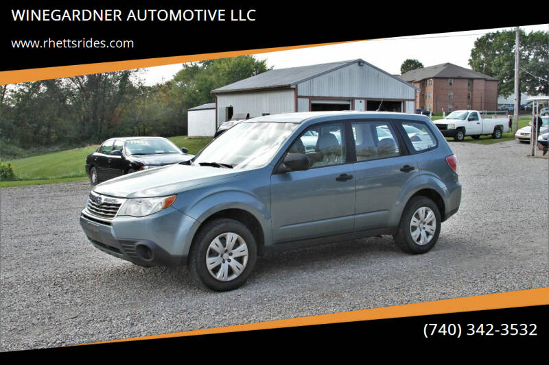 2009 Subaru Forester for sale at WINEGARDNER AUTOMOTIVE LLC in New Lexington OH