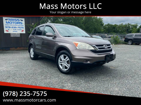 2011 Honda CR-V for sale at Mass Motors LLC in Worcester MA