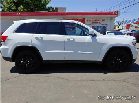 2013 Jeep Grand Cherokee for sale at Dealers Choice Inc in Farmersville CA