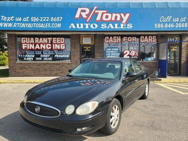 2006 Buick LaCrosse for sale at R Tony Auto Sales in Clinton Township MI