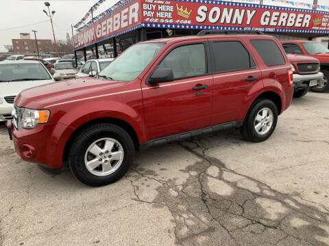 2010 Ford Escape for sale at Sonny Gerber Auto Sales 4519 Cuming St. in Omaha NE